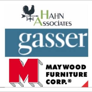 Hahn Associates / Gasser Chair / Maywood Furniture
